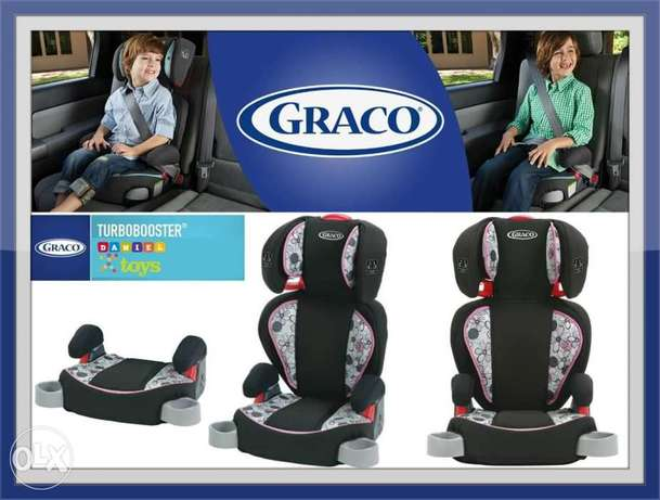 Graco TurboBooster High Back Booster Car Seat available in 3 colors