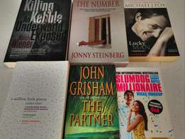 6 Books for Only R 250