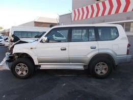 1999 Toyota Prado 3.0 VX diesel stripping for parts