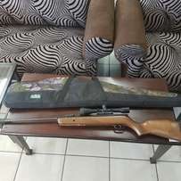 Air Rifle Gamo 440 and Nikko Sterling Scope and bag