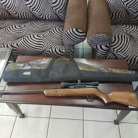 Air Rifle Gamo 440 and Nikko Sterling Scope and bag Pietersburg North - image 1