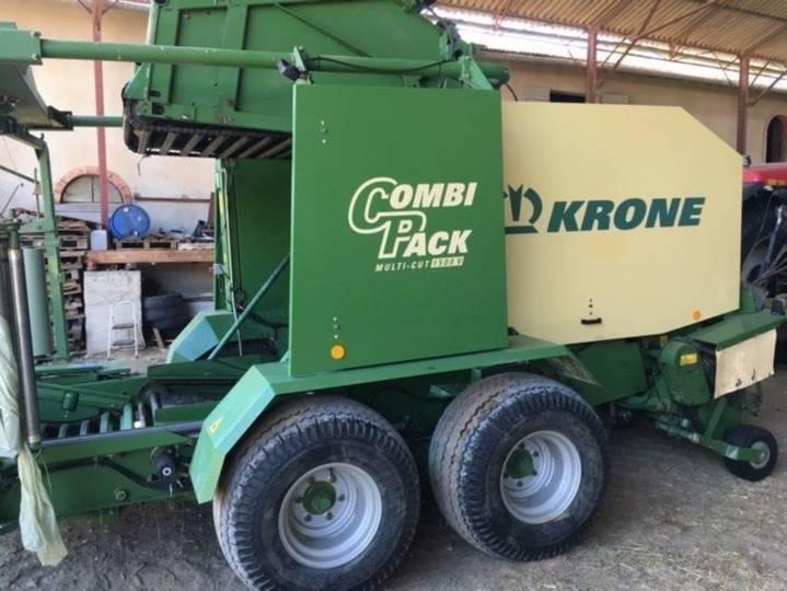Krone combi-pack v1500 multi-cut - 2002