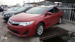 Registered Red Colored Toyota Camry LE 2013 Model With Auto Fabric A/C