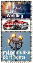Welding and Damaged Vehicle body repair