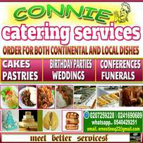 Local,continental dishes,cakes and pastries for your wedding