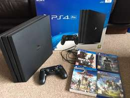 Sony Playstation 4 Pro 1TB (NEW IN BOX UNSEALED)