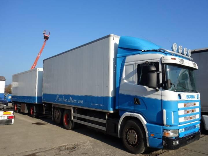 Scania 144/460 + Anhänger - 1998