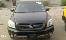 toks 03 honda pilot lag cleared for N2m