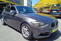 2012 BMW 1 Series 120d 5 door Sport - 122000km - R199,995