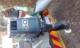 Yamaha 50hp autolube for sale  Boksburg