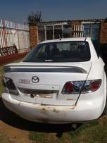Mazda 6 2.3 2006 Model Stripping for Spares