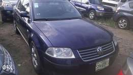 3months used 1st body 2004 Volkswagen Passat for 1m (leather interior)