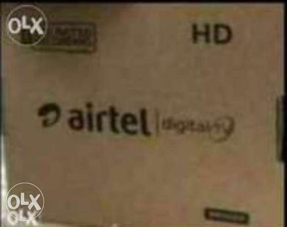Airtel Jd Set top box with 6months pakge