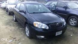 Six Months old, 2006 Toyota Corolla with Low Mileage