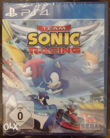 "Team Sonic Racing Ps""4"" #*# new"