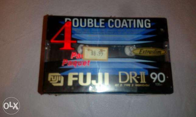fuji 90mn audio tape new