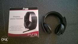 Ps3/Ps4 official playstation headphones