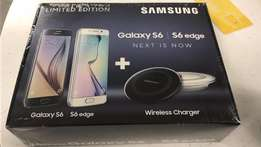 Samsung Galaxy S6 edge + wireless charger( Brand New, Unopened)