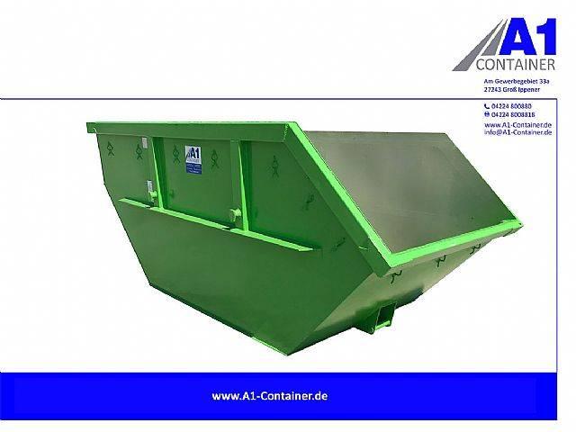 Absetzmulde 7m³ Mulde Container Hellgrün - 2019