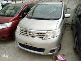 Get This Showroom car Nissan Serena silver Now