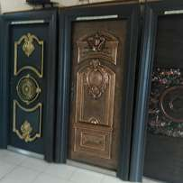 Copper bullet proof door