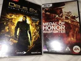 2 pc games never used cheap!!