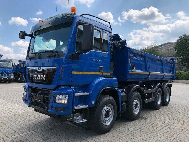 MAN TGS 35.460 8x4 BB Kipper Meiller mit Bordmatik - 2019