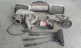Top Manifold, Powersteering Pump,Compressor,Coil Pack,Cluster,BMW E36