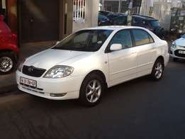 2004 model Toyota Corolla 1.8oi GSX /kilo 92000/in parfait condition