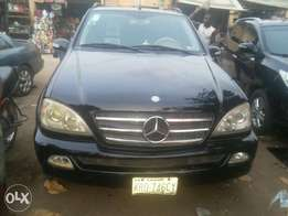 03 ml Mercedes suv for sale