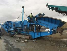 Used Pegson 1000sr Mobile cone crusher.