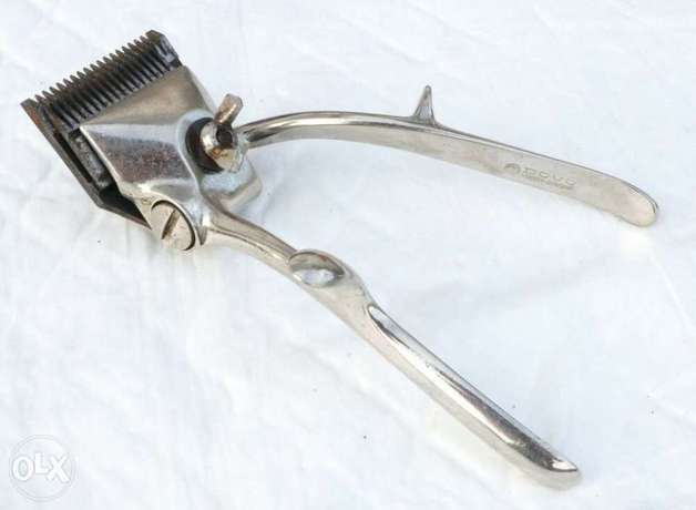 German Vintage Hand Hair Trimmer