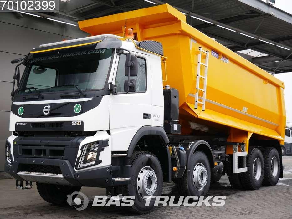 Volvo FMX 500 8X4 25m3 VEB+ Big-Axle Steelsuspension Euro 6 - 2019