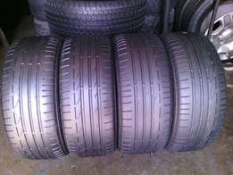 225/50/R17 Runflat on special set of 4 tyres in a good condition