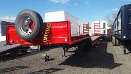 Stepdeck Lowbed Trailers.