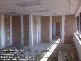 Drywall Partitioning,Bulkheads Suspended Ceilings