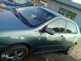 Registered Neatly used 04 Toyota corolla sports