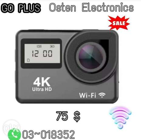 Action camera full ultra HD waterproof up to 30 meters.