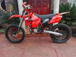 Immaculate KTM 250 exc 2005 for sale