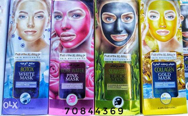 Mask Fruit Al Attar