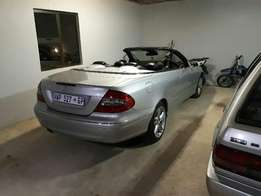CLK 500 Mercedes Benz Convertible