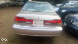 Toks 2002 Honda accord baby boy its accident free