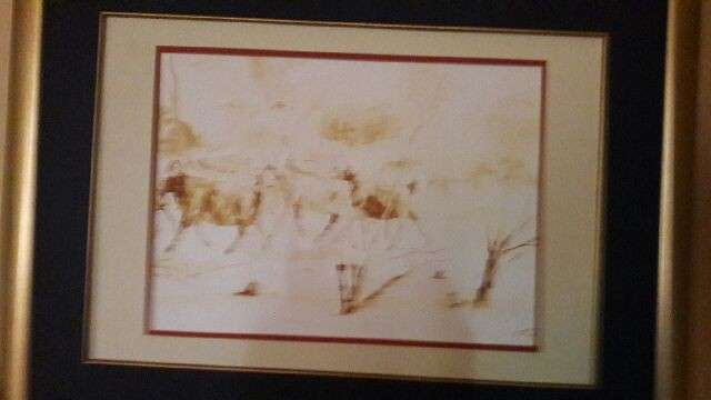 Velias Ndaba Painting - Watercolor - Highly Collectible Moot - image 3
