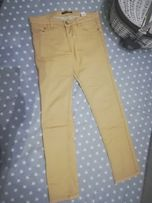 8e4835829edf3 Nowe jeansy rurki spodnie beżowe camel beż house 38 gumki