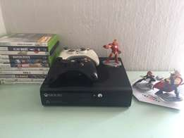 Xbox 360 E (4Gb) Console + Games for sale