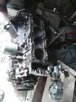 Nissan sentra 1.6 engine with cylinder head