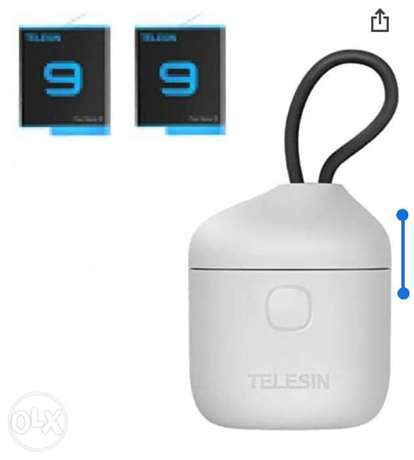 allin box charger with battery for hero 9