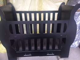 Baby Sleigh Cot for sale