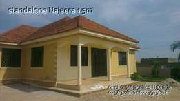 Outstanding 3 bedroom stand alone at 1.5m in najjera
