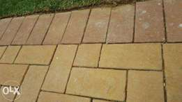 Corobrik clay pavers for sale, R2each, only 10sq left, burgundy